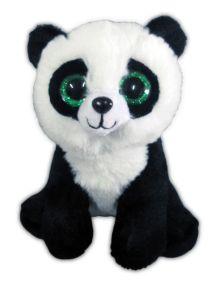 Панда черно-белая,15 см