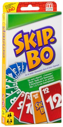 Skip-Bo Карточная игра