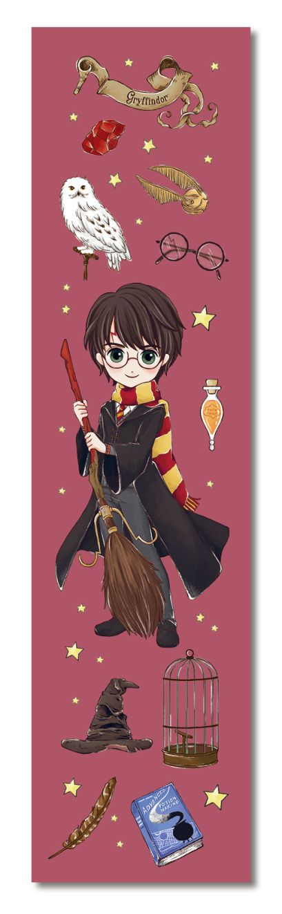 Гарри Поттер. Закладка с резинкой. Коллекция «Cute kids» - фото 1