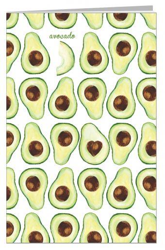Блокнот. Авокадо
