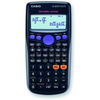 Калькулятор CASIO инженерный, FX-82ESPLUSBKSBEHD, 252 функции, питание от батарейки, 162х80 мм., Сертифицирован для ЕГЭ
