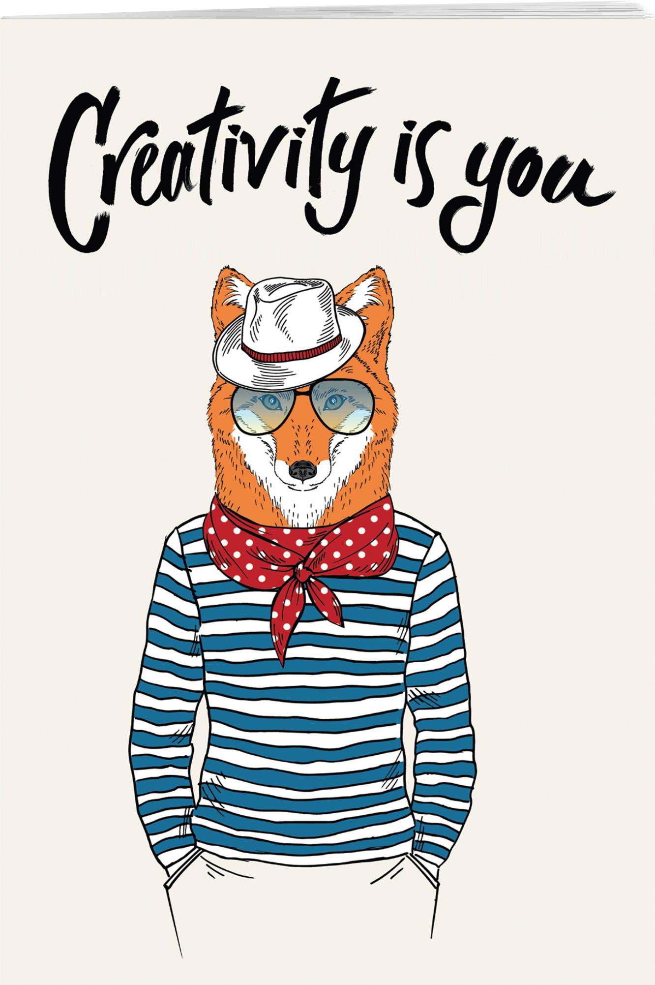 Creativity is you (А5, мягкая обложка), ISBN 9785040958566, БОМБОРА, 2018, Блокноты Like , 978-5-0409-5856-6, 978-5-040-95856-6, 978-5-04-095856-6 - купить со скидкой