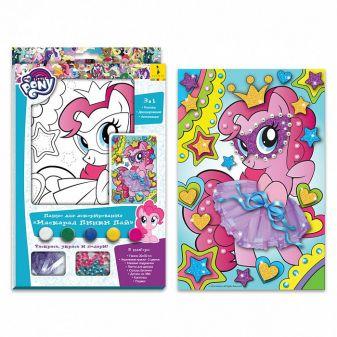 """Мой маленький пони - Мой маленький пони.Панно для декор""""МАСКАРАД ПИНКИ ПАЙ"""" My Little Pony обложка книги"""