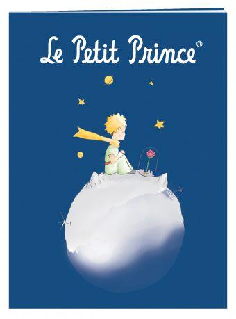 Тетрадь Маленький принц. синяя. моя планета (48 л., клетка)
