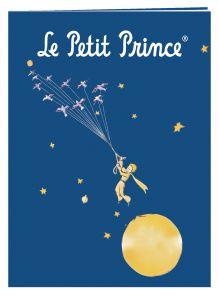 Тетрадь Маленький принц. синяя. полет (48 л., клетка)