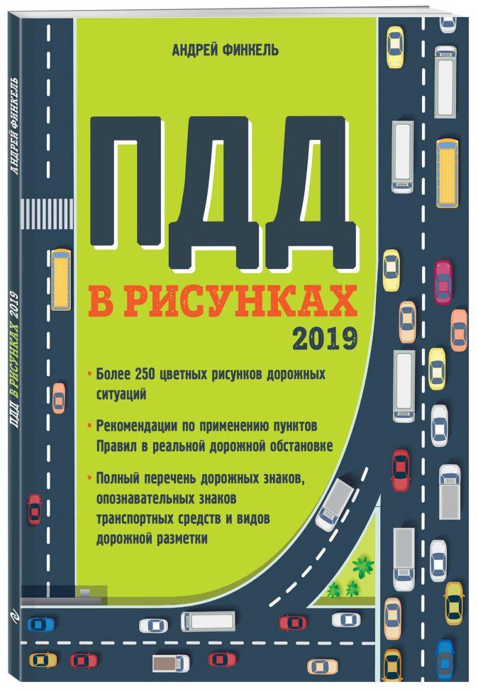 Финкель А.Е. - Правила дорожного движения в рисунках (редакция 2019 г.) обложка книги