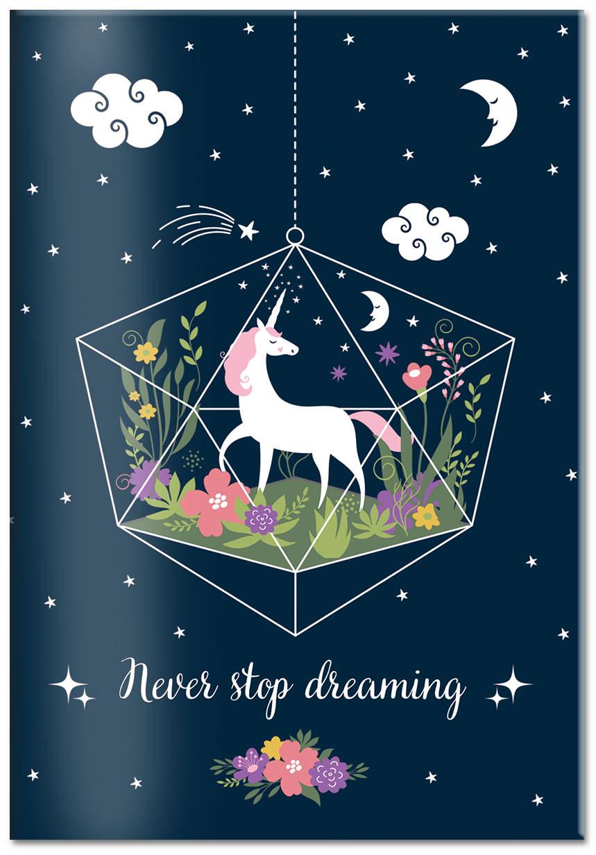 Фото - Обложка для паспорта. Единорог. Never stop dreaming андрэ рье andre rieu dreaming