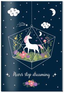 Обложка для паспорта. Never stop dreaming