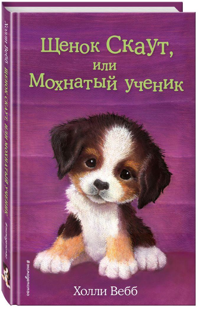 Холли Вебб - Щенок Скаут, или Мохнатый ученик (выпуск 38) обложка книги