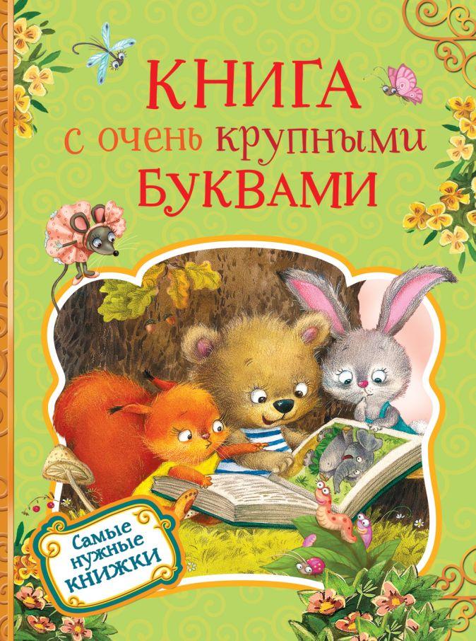 Есенин С. А., Пушкин А. С., Толстой Л. Н. и др. - Книга с очень крупными буквами обложка книги