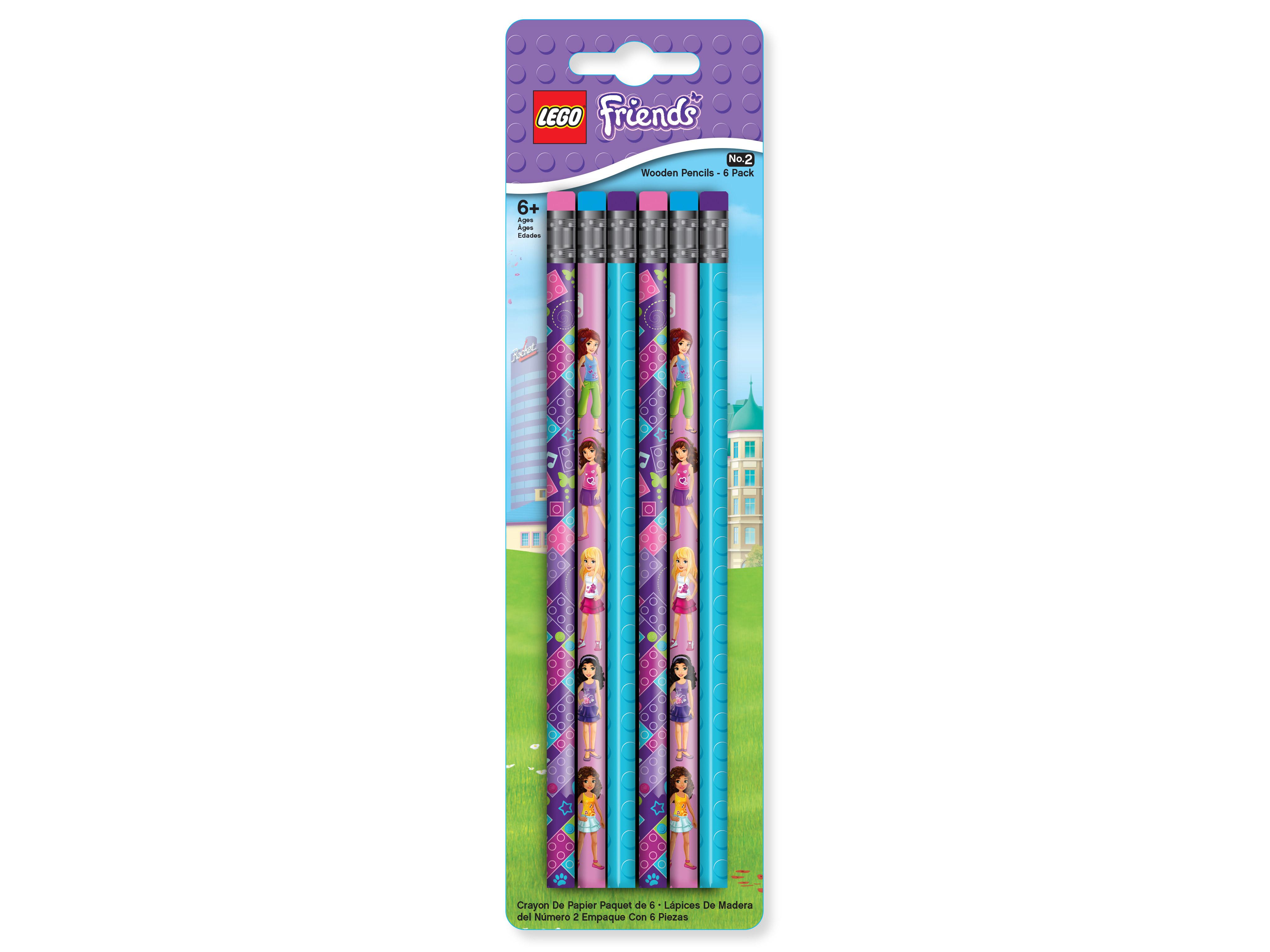 Набор карандашей (6 шт.) LEGO Friends (Подружки)