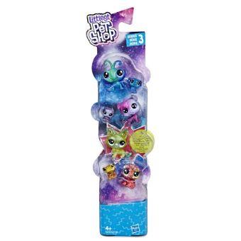 Littlest Pet Shop Набор игрушек 7 космических ПЕТА