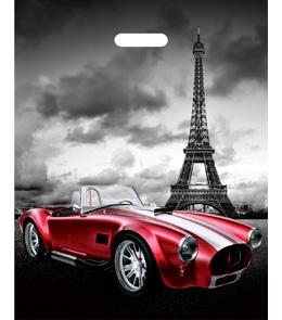 Пакет полиэтиленовый Париж (36,5смх48см) ПП-7346