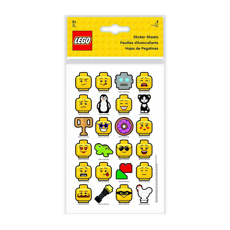 Набор стикеров (4 шт.) LEGO (51163)