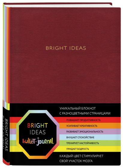 Блокнот в точку Bright Ideas, 96 листов, красный - фото 1