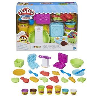 "FOOD ROLE PLAY - Play-Doh Игровой набор Плей-До ""Готовим обед"" (E1936) обложка книги"