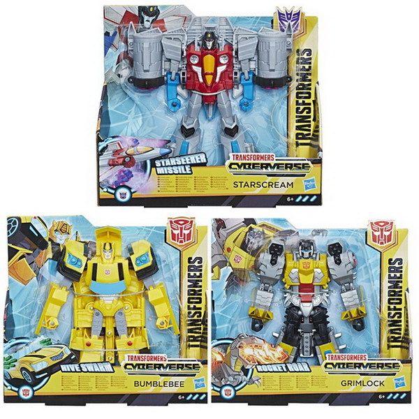 Transformers Игрушкатрансформер КИБЕРВСЕЛЕННАЯ 19 см (E1886)