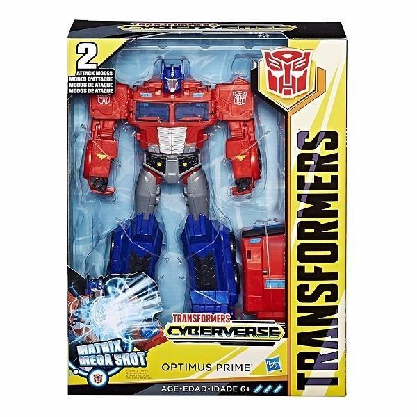 Transformers Игрушкатрансформер КИБЕРВСЕЛЕННАЯ 30 см (E1885)