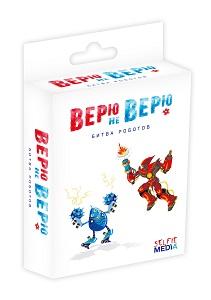 Настольная игра «Верю не верю: битва роботов»