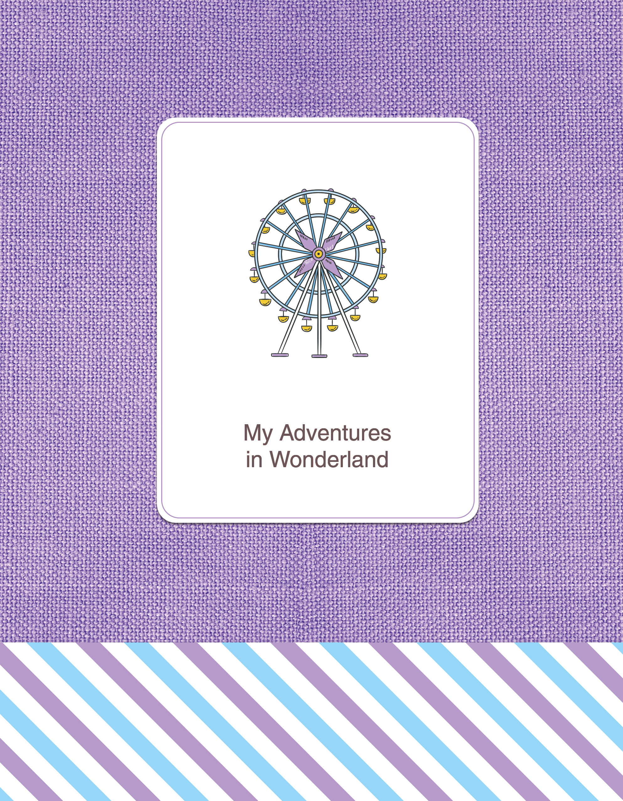 Блокнот. My Adventures in Wonderland (FixPrice) (2 оф.) disto d410 с поверкой