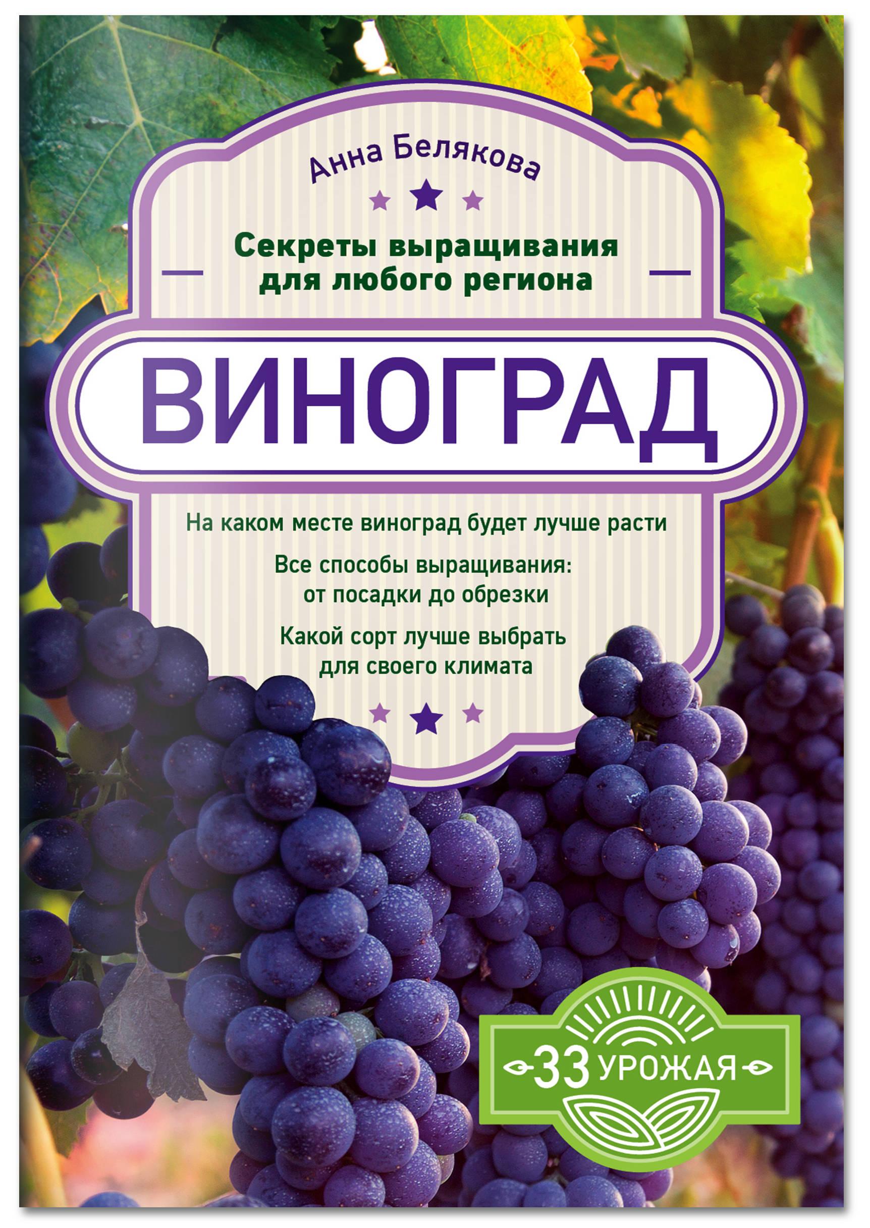 Анна Белякова Виноград. Секреты выращивания для любого региона анна белякова виноград урожайная лоза