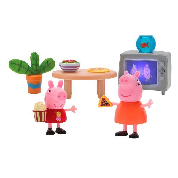 Свинка Пеппа. Пеппа и Мама смотрят фильмы игр.наб.TM Peppa Свинка Пеппа