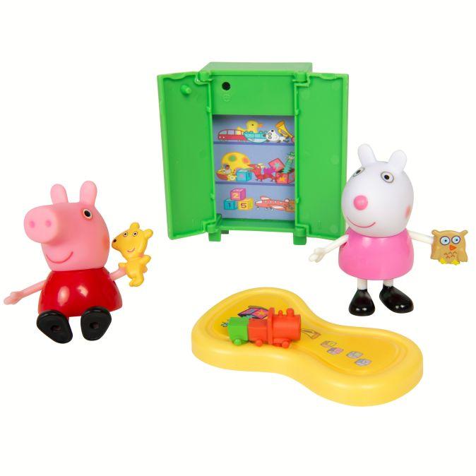 Свинка Пеппа. Пеппа и Сьюзи играют в игры игр.наб.TM Peppa Pig Свинка Пеппа