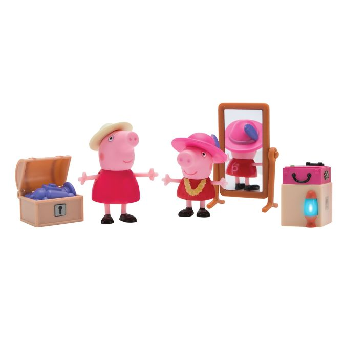 Свинка Пеппа. Пеппа и Бабушка в гардеробной игр.наб.TM Peppa Pig Свинка Пеппа
