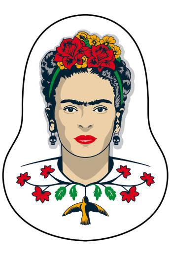 Деревянный значок. Фрида Кало все цены