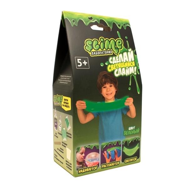 """Малый набор для мальчиков Slime """"Лаборатория"""", зеленый, 100 г."""