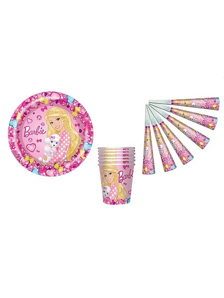 Набор № 1.Barbie с дудочками Барби