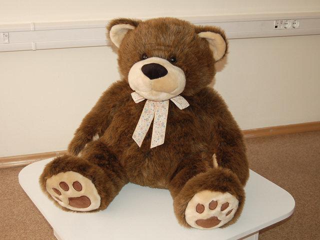 Медведь коричневый 87см (53см) PLUSH APPL Отсутствует
