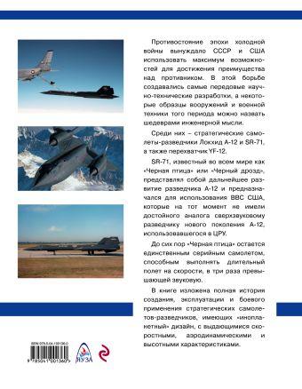 Стратегический разведчик SR-71 «Черная птица». Самолеты-невидимки фирмы «Локхид» Михаил Никольский
