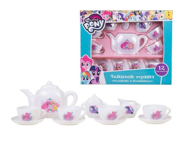 Мой маленький пони. Чайный сервиз, 12 предметов. TM My Little Pony Мой маленький пони