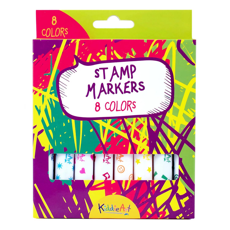8 маркеров-штампиков