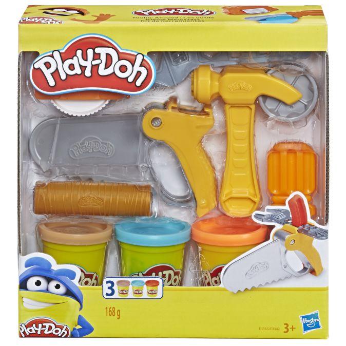 Play Doh - Play-Doh Игровой набор Плей-До Сад или Инструменты обложка книги