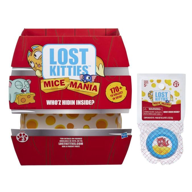 LOST KITTIES Набор мышка-малышка (E6292)