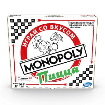 Настольная игра «Монополия. Пицца»
