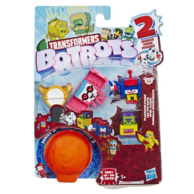 TRANSFORMERS Игровой набор 5 трансформеров Ботботс (E3486)