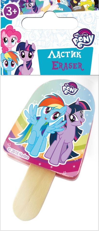 "Ластик фигурный ""Эскимо"". Размер: 4,5 x 3,5 x 1 см. My Little Pony - фото 1"
