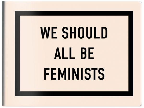 Кардхолдер в форме книжки We should all be feminists