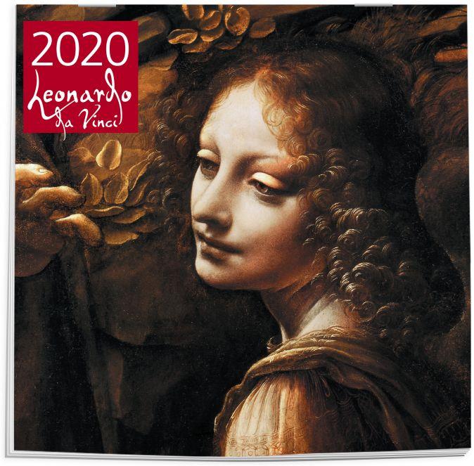 Леонардо Да Винчи. Календарь настенный на 2020 год (300х300 мм)