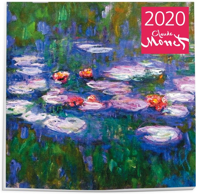 Клод Моне. Календарь настенный на 2020 год (300х300 мм)
