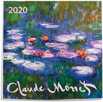 Клод Моне. Календарь настенный на 2020 год (170х170 мм)