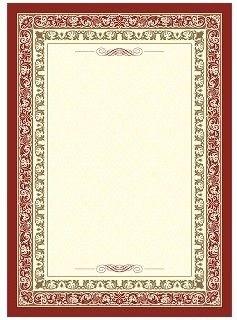 Грамота-рамка (с бронзой)