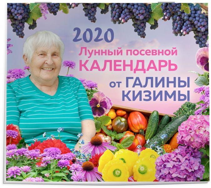 Кизима Г.А. - Настенный лунный посевной календарь 2020 от Галины Кизимы обложка книги