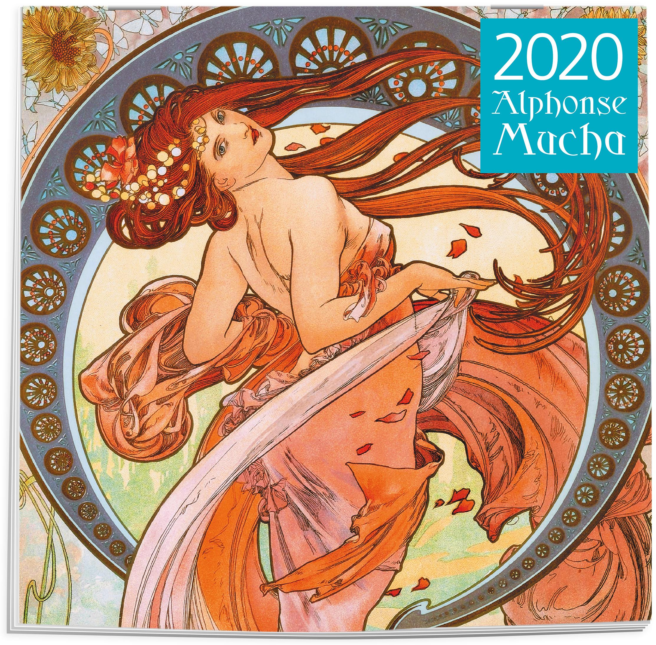 Альфонс Муха. Календарь настенный на 2020 год (300х300 мм)