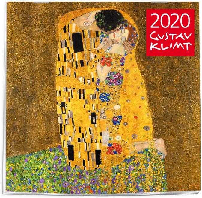 Густав Климт. Календарь настенный на 2020 год (300х300 мм)