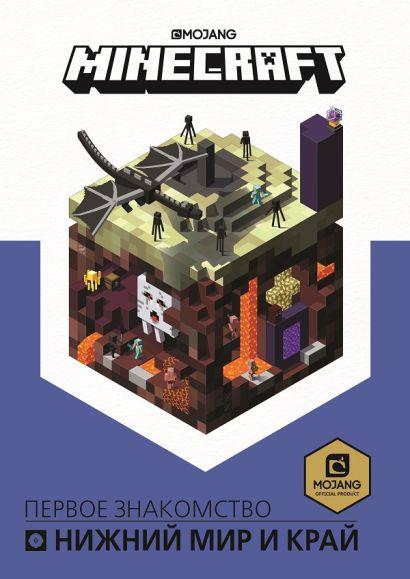 Первое знакомство. Нижний мир и Край. Minecraft. - фото 1