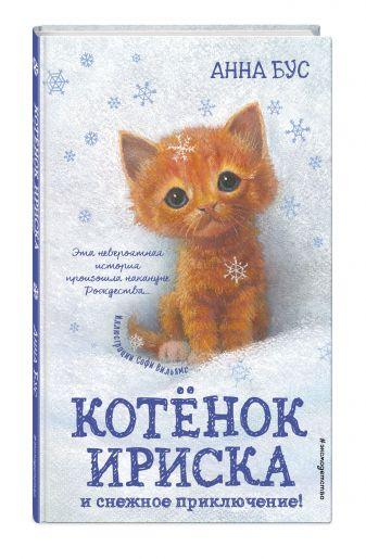 Анна Бус - Котёнок Ириска и снежное приключение! обложка книги
